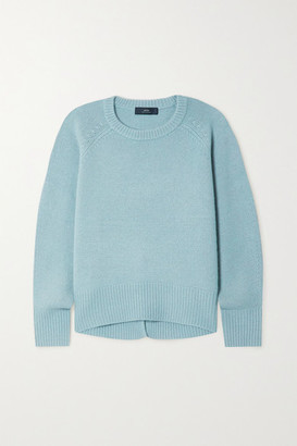 Arch4 Net Sustain Bredin Cashmere Sweater - Blue