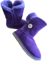 UGG Purple Suede Ankle boots