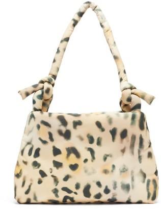 Kassl Editions Lady Tec Leopard-print Padded Shoulder Bag - Leopard