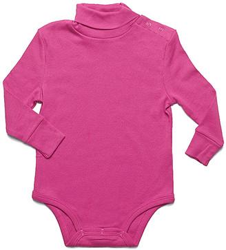 Leveret Girls' Infant Bodysuits Magenta - Magenta Turtleneck Bodysuit - Infant & Toddler