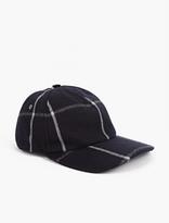 A.P.C. Navy Woollen Baseball Cap