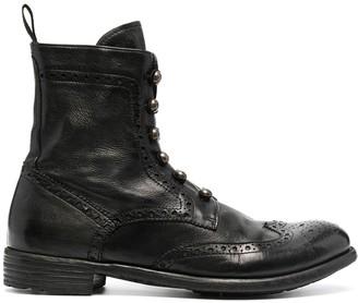 Officine Creative Brogue Detail Boots