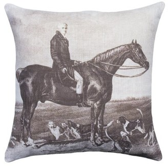 Bally Hayfork Cotton Throw Pillow Loon Peak