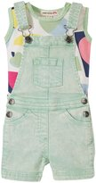 Appaman Tank W/Pixley Overall Set (Baby) - Pastel Green - 6-12 Months