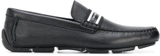 Calvin Klein Logo Strap Loafers