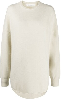 Extreme Cashmere Oversized Rib-Trimmed Jumper
