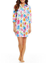Lauren Ralph Lauren His Shirt Floral Sateen Sleepshirt