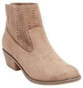 dv Women's dv Loma Chelsea Laser Cut Booties - Taupe