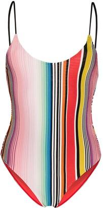 Missoni Mare Striped Print Swim Suit