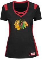 Majestic Women's Chicago Blackhawks Draft Me T-Shirt