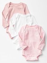 Gap Favorite long-sleeve bodysuit (3-pack)