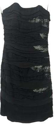 Jay Ahr Black Silk Dress for Women