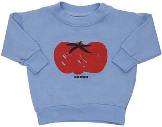 Bobo Choses Tomato Print Organic Cotton Sweatshirt