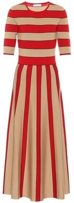 Gabriela Hearst Capote wool-blend dress