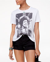 Mighty Fine DOE Juniors' Jimi Hendrix Boyfriend Graphic T-Shirt