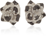 Colette Jewelry 18K White Gold and Diamond Earrings
