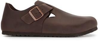 Birkenstock London leather shoes