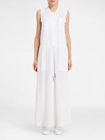 DKNY Pure Drawstring Maxi Dress