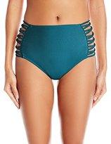 O'Neill Women's Lux Solids High Waist Bikini Bottom