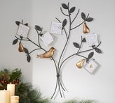Pottery Barn Partiridge in a Pear Tree Card Holder
