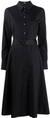 Karl Lagerfeld Paris Belted Shirt Dress