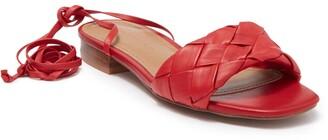 Who What Wear Marlena Ankle Tie Sandal