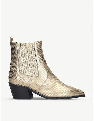 Carvela Stella leather ankle boots