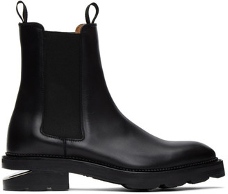 Alexander Wang Black Andy Box Chelsea Boots