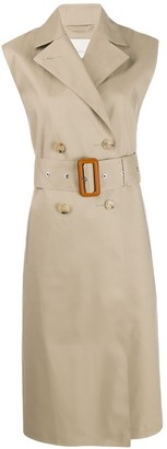 MACKINTOSH Melgrave sleeveless trench coat