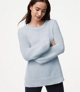 LOFT Textured Blouson Sleeve Sweater
