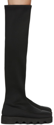 Issey Miyake Black United Nude Edition Long Bounce Boots