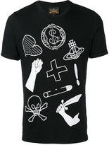 Vivienne Westwood icon print T-shirt - men - Cotton - M