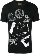 Vivienne Westwood icon print T-shirt - men - Cotton - S
