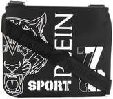 Plein Sport tiger motif shoulder bag