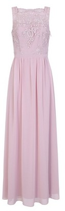 Dorothy Perkins Womens *Chi Chi London Pink Embroidered Maxi Dress, Pink