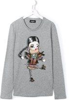 DSQUARED2 girl print T-shirt