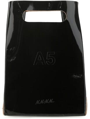 Nana-Nana A5 Logo Embossed Shoulder Bag