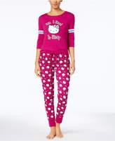 Hello Kitty Varsity Kitty Knit Pajama Set
