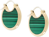 Pamela Love Mojave malachite earrings