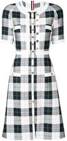 Thom Browne plaid straight dress