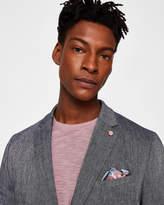 Ted Baker HINES Linen-blend jacket