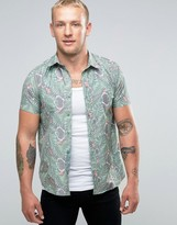 Mambo Short Sleeve Shirt Tiki Bar