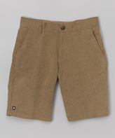 Micros Khaki Casino Air Shorts - Boys