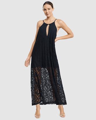 Aqua Blu Australia Luxe Primrosa Maxi Dress