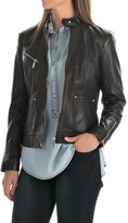 Bernardo Leather Jacket (For Women)