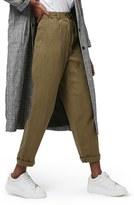 Topshop 'Mensy' Corduroy Peg Trousers