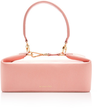 REJINA PYO Olivia Lizard-Effect Leather Bag
