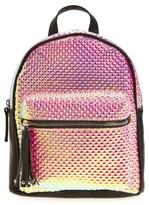 Girl's Omg Hologram Mini Backpack - Pink