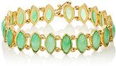 Irene Neuwirth Women's Gemstone Bracelet-GREEN, NO COLOR