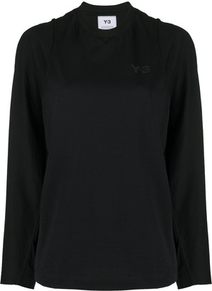 Y-3 double layered long-sleeved T-shirt